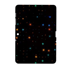 Awesome Allover Stars 02e Samsung Galaxy Tab 2 (10.1 ) P5100 Hardshell Case