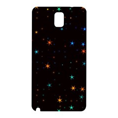 Awesome Allover Stars 02e Samsung Galaxy Note 3 N9005 Hardshell Back Case