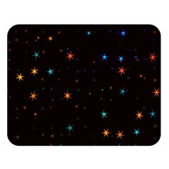 Awesome Allover Stars 02e Double Sided Flano Blanket (Large)