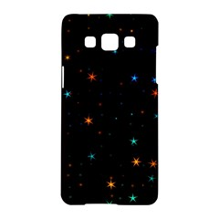 Awesome Allover Stars 02e Samsung Galaxy A5 Hardshell Case