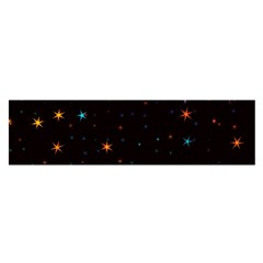 Awesome Allover Stars 02e Satin Scarf (Oblong)