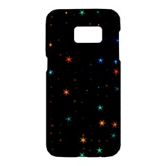 Awesome Allover Stars 02e Samsung Galaxy S7 Hardshell Case