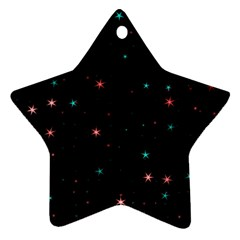 Awesome Allover Stars 02f Ornament (Star)