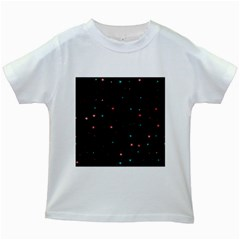 Awesome Allover Stars 02f Kids White T-Shirts