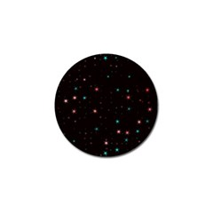 Awesome Allover Stars 02f Golf Ball Marker (4 pack)