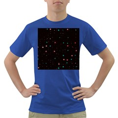 Awesome Allover Stars 02f Dark T-Shirt