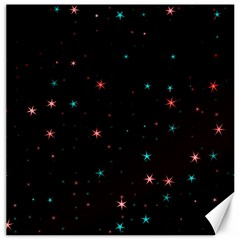 Awesome Allover Stars 02f Canvas 12  x 12