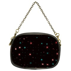 Awesome Allover Stars 02f Chain Purses (One Side)