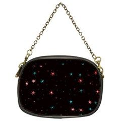 Awesome Allover Stars 02f Chain Purses (Two Sides)
