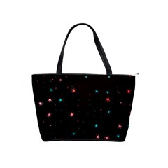 Awesome Allover Stars 02f Shoulder Handbags