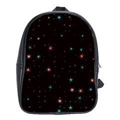 Awesome Allover Stars 02f School Bags(Large)