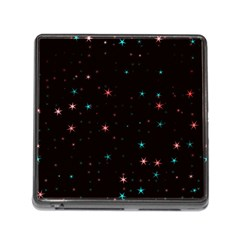 Awesome Allover Stars 02f Memory Card Reader (Square)