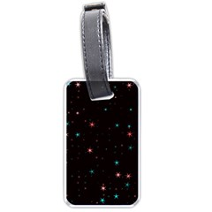 Awesome Allover Stars 02f Luggage Tags (One Side)