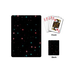 Awesome Allover Stars 02f Playing Cards (Mini)