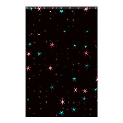 Awesome Allover Stars 02f Shower Curtain 48  x 72  (Small)