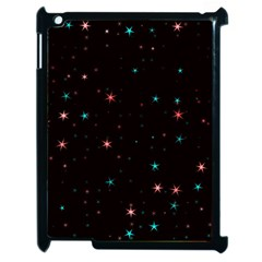 Awesome Allover Stars 02f Apple iPad 2 Case (Black)