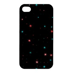 Awesome Allover Stars 02f Apple iPhone 4/4S Premium Hardshell Case