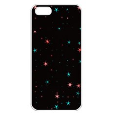 Awesome Allover Stars 02f Apple iPhone 5 Seamless Case (White)