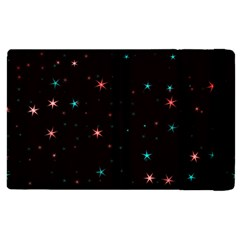 Awesome Allover Stars 02f Apple iPad 3/4 Flip Case