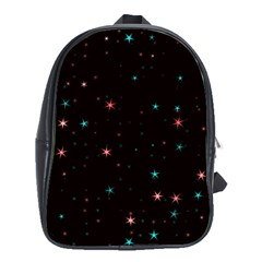 Awesome Allover Stars 02f School Bags (XL)