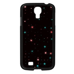 Awesome Allover Stars 02f Samsung Galaxy S4 I9500/ I9505 Case (Black)