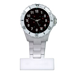 Awesome Allover Stars 02f Plastic Nurses Watch