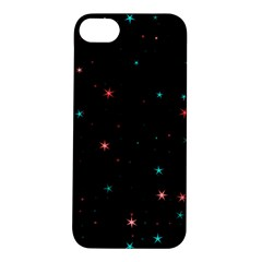 Awesome Allover Stars 02f Apple iPhone 5S/ SE Hardshell Case