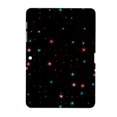 Awesome Allover Stars 02f Samsung Galaxy Tab 2 (10.1 ) P5100 Hardshell Case
