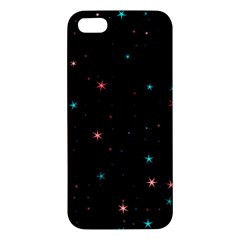 Awesome Allover Stars 02f iPhone 5S/ SE Premium Hardshell Case