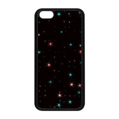 Awesome Allover Stars 02f Apple iPhone 5C Seamless Case (Black)