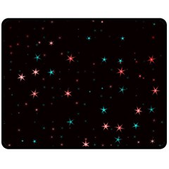 Awesome Allover Stars 02f Double Sided Fleece Blanket (Medium)