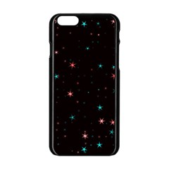 Awesome Allover Stars 02f Apple iPhone 6/6S Black Enamel Case