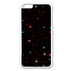 Awesome Allover Stars 02f Apple iPhone 6 Plus/6S Plus Enamel White Case