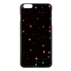 Awesome Allover Stars 02f Apple iPhone 6 Plus/6S Plus Black Enamel Case