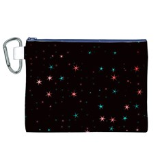 Awesome Allover Stars 02f Canvas Cosmetic Bag (xl)