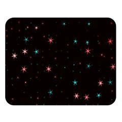 Awesome Allover Stars 02f Double Sided Flano Blanket (Large)