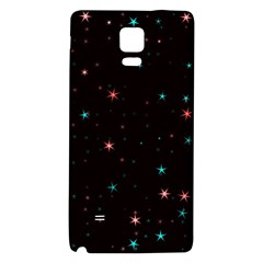 Awesome Allover Stars 02f Galaxy Note 4 Back Case