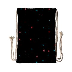 Awesome Allover Stars 02f Drawstring Bag (Small)