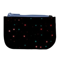 Awesome Allover Stars 02f Large Coin Purse