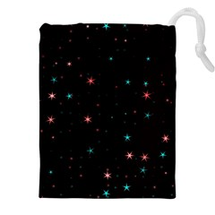 Awesome Allover Stars 02f Drawstring Pouches (XXL)