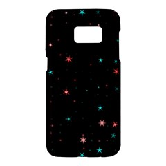 Awesome Allover Stars 02f Samsung Galaxy S7 Hardshell Case