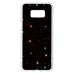 Awesome Allover Stars 02f Samsung Galaxy S8 Plus White Seamless Case