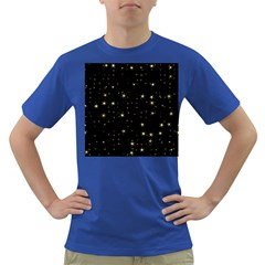 Awesome Allover Stars 02a Dark T-Shirt