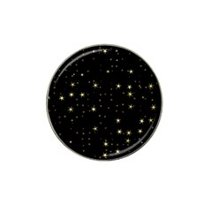 Awesome Allover Stars 02a Hat Clip Ball Marker (4 pack)
