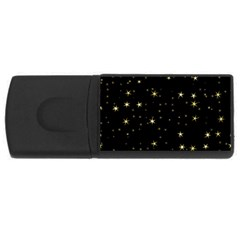 Awesome Allover Stars 02a USB Flash Drive Rectangular (4 GB)