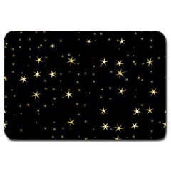 Awesome Allover Stars 02a Large Doormat