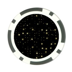 Awesome Allover Stars 02a Poker Chip Card Guard