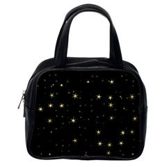 Awesome Allover Stars 02a Classic Handbags (One Side)