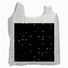 Awesome Allover Stars 02a Recycle Bag (Two Side)