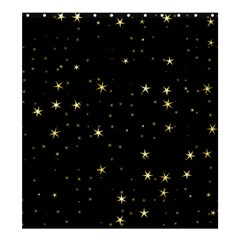 Awesome Allover Stars 02a Shower Curtain 66  x 72  (Large)